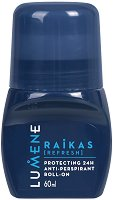 Lumene Men Raikas Protecting 24H Anti-Perspirant Roll-On - Ролон дезодорант за мъже - дезодорант
