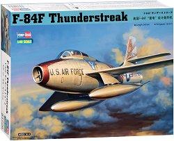 Американски изтребител - F-84F Thunderstreak - Сглобяем авиомодел - макет