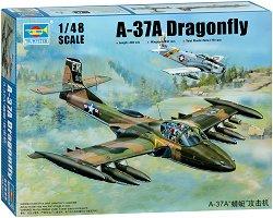 Лек военен самолет - A-37A Dragonfly - Сглобяем авиомодел -
