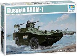 Руски бронетранспортьор - БРДМ-1 - Сглобяем модел -