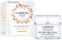 """Lumene Valo Glow Reveal Moisturizer - Овлажняващ крем за лице с витамин C от серията """"Valo"""" - серум"""
