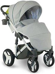 Бебешка количка 2 в 1 - Ultra - С 4 колела -