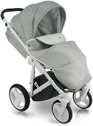 Бебешка количка 2 в 1 - D'Angela - С 4 колела -
