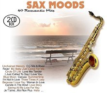 Sax Moods: 40 Romantic Hits - 2 CD Box - компилация