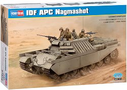 Израелска бронирана пехотна машина - IDF APC Nagmashot - Сглобяем модел -