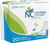 Normal Clinic Ultra Fresh Comfort Line Small Pantyliners - балсам
