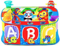Детски център - Басейн - Комплект с 30 броя пластмасови топки - играчка