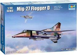 Руски изтребител - МиГ-27 Flogger D - Сглобяем авиомодел -