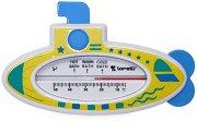 Термометър за баня - Лодка - играчка