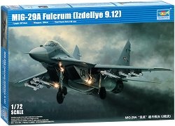 Руски изтребител - МиГ-29А Fulcrum - Сглобяем авиомодел -