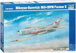 Руски изтребител - МиГ-19ПМ Farmer E - Сглобяем авиомодел -