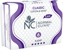 Normal Clinic Classic Cotton & Velvet Super -