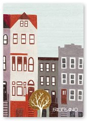 Ученическа тетрадка - Metro Art : Формат А4 с широки редове - 40 листа -