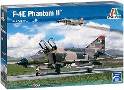 Американски разузнавателен изтребител - F-4E Phantom II - Сглобяем авиомодел -