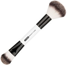 Titania Beauty Care Double-ended Makeup Brush - Четка за нанасяне на пудра и фон дьо тен 2 в 1 -