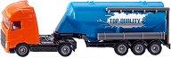 """Камион със силозно ремарке - Volvo FH16 - Метална играчка от серията """"Super: Transport"""" - играчка"""