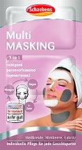 Мултифункционална маска за лице 3 в 1 - Опаковка за едно нанасяне - лосион