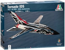 Италиански многоцелеви самолет - Tornado IDS 311° 60th Anniversary - Сглобяем авиомодел -