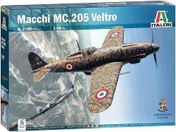Италиански изтребител - Macchi MC.205 Veltro - макет