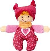Кукла Babyrassel - Плюшена играчка с дрънкалка -