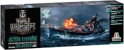 "Боен кораб - IJN Atago - Сглобяем модел от серията ""World of Warships - Action Stations"" -"