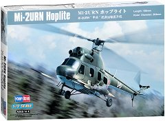Полски хеликоптер - Mi-2URN Hoplite - Сглобяем авиомодел - макет