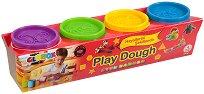 Пластилин - Play Dough - Комплект от 4 цвята