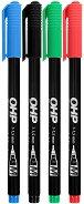 Перманентни маркери - Ico OHP M 1 cm - Комплект от 4 броя