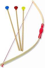 Лък със стрели - Детска играчка - играчка