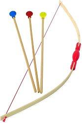 Лък с мишена и стрели - Детска играчка - играчка