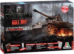 """Танк - PZ.KPFW. V PANTHER - Сглобяем модел от серията """"World of Tanks: Roll Out"""" - макет"""