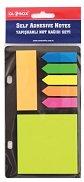 Самозалепващи цветни индекси - Комплект от 3 различни форми