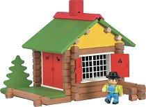 Къща - Дървен конструктор - играчка