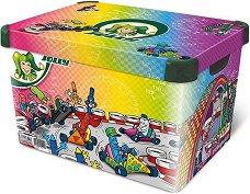 Кутия за съхранение - Kart Race - Детски аксесоар - топка