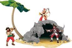 """Пиратски остров - Комплект за игра от серията """"Пирати"""" -"""