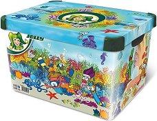 Кутия за съхранение - Under the sea - Детски аксесоар - творчески комплект