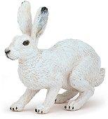 """Бял заек - Фигура от серията """"Животните във фермата"""" -"""