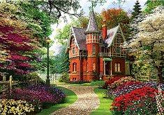 Къща във викториански стил - пъзел