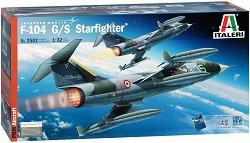 Американски изтребител-бомбардировач - Lockheed F-104 G/S Starfighter - Сглобяем авиомодел -