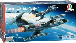 Американски изтребител-бомбардировач - Lockheed F-104 G/S Starfighter -