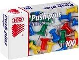 Пинчета - Ico - Комплект от 100 броя