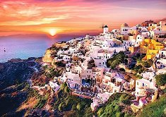 Залез над Санторини -