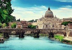 Мостът на Сант Анжело, Рим -