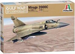 Френски многоцелеви изтребител - Mirage 2000C - Сглобяем авиомодел -