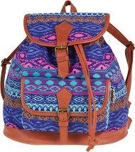 Ученическа раница - Fiesta: Blue Tribal - раница