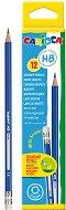 Графитни моливи с гумички - HB - Комплект от 12 броя -