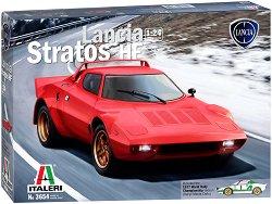 Автомобил - Lancia Stratos HF - Сглобяем модел -