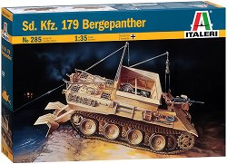 Германски танк - Sd. Kfz. 179 Bergepanther - Сглобяем модел - макет