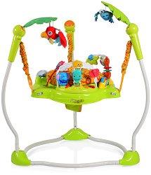 Бебешко бънджи - Jungle Jumper - С музикални и светлинни ефекти -