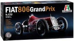 Състезателен автомобил - FIAT 806 Grand Prix - Сглобяем модел -